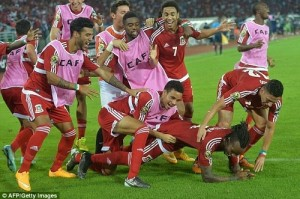 Equatorial Guinea qualified for semi-final of 2015 africa cup of nations.