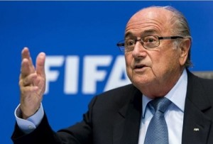 FIFA President Sepp Blatter said that 2026 world cup bids to consider human rights.