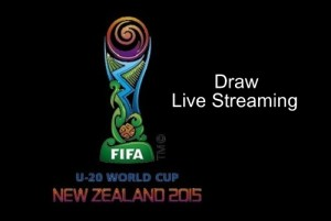 FIFA U-20 world cup 2015 draw live streaming, date and time info.