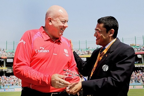 ICC appointed match umpires and referees for 2015 cricket world cup.