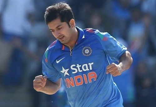 ICC approves Mohit Sharma's replacement in Indian team for 2015 world cup.
