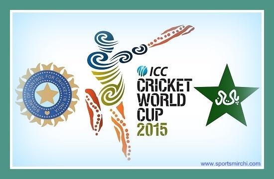 India vs Pakistan 2015 cricket world cup match.