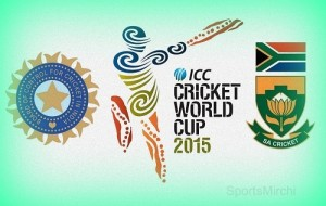 India vs South Africa world cup 2015 match.