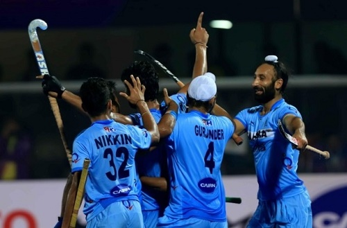 Indian hockey team to tour Australia in 2016, 2017 and 2018.