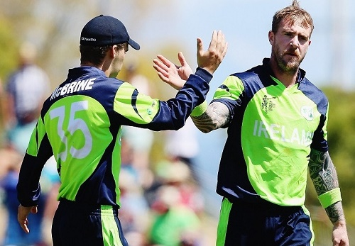 Ireland beat West Indies in 2015 world cup first match by 4 wickets.
