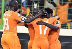 Ivory Coast beat Algeria by 3-1 to qualify for 2015 africa cup of nations semifinal.