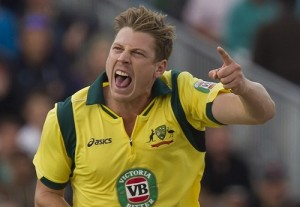 James Faulkner ruled out from opening match of Australia in 2015 world cup against England.