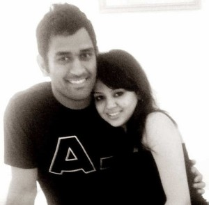 MS Dhoni becomes father of a girl child before 2015 world cup start.