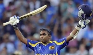 Mahela Jayawardene scored hundred in 2011 cricket world cup final.