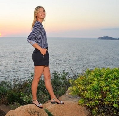 Maria Sharapova pictures at Acapulco ahead of Mexico Open 2015.