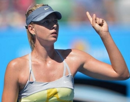 Maria Sharapova qualify for Acapulco quarterfinal by beating Duque Marino.