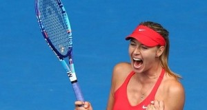 Sharapova told Reuters that she would love to beat Serena