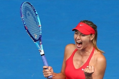 Maria Sharapova told Reuters that she wants to beat Serena Williams.