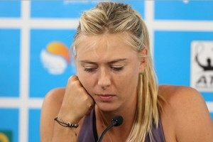 Maria Sharapova withdraws from Mexico Open 2015 due to Stomach virus.
