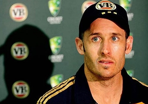 Michael Hussey to guide South Africa for first world cup title in training session.