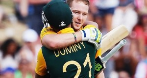 Miller, Duminy hundreds lead South Africa to cross 300 vs ZIM