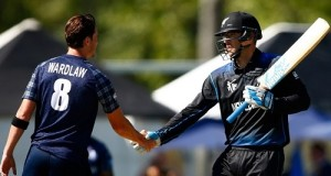 New Zealand beat Scotland by 3 wickets in world cup 2015