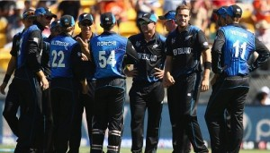 New Zealand trashed England in world cup 2015 at Wellington.
