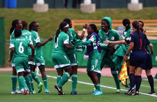 Nigeria matches schedule for 2015 FIFA women's world cup.