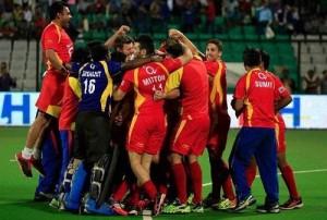 Ranchi Rays beat Jaypee Punjab Warriors to win 2015 hockey India league title.