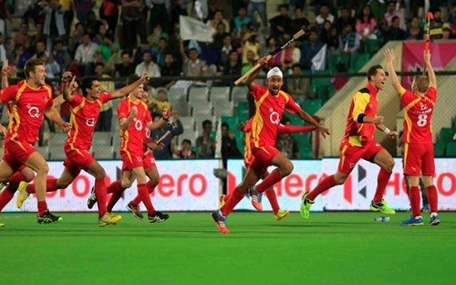 Ranchi Rays beat Uttar Pradesh Wizards to qualify for HIL 2015 final.