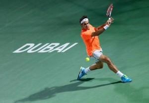 Roger Federer wins his 7th Dubai tennis title by beating Djokovic.