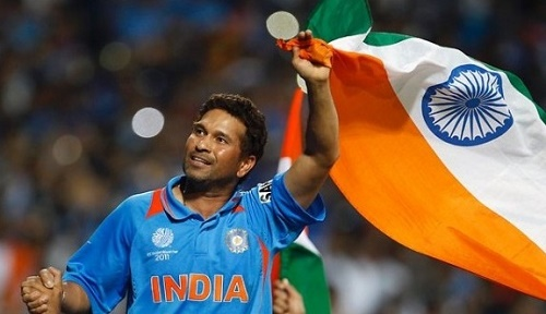 Sachin Tendulkar wishes team India to win 2015 cricket world cup.