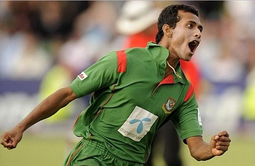 Shafiul Islam replaced Al-Amin Hossain in Bangladesh world cup 2015 squad.