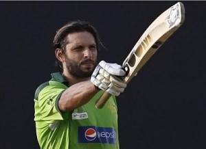 Shahid Afridi amongst top all-rounders of 2015 cricket world cup.