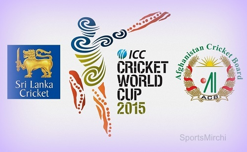 Sri Lanka vs Afghanistan world cup 2015 live streaming and score.