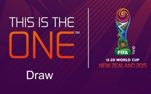 USA placed in 2015 FIFA U-20 world cup New Zealand draw.