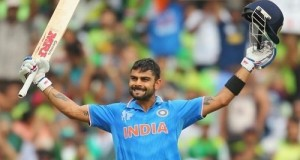 Kohli becomes 1st Indian to score ton in IND-PAK world cup clash