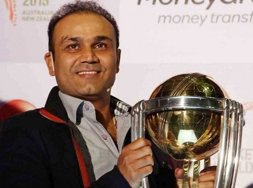 Virender Sehwag picks 2015 world cup semifinalists India, Australia, South Africa and New Zealand.