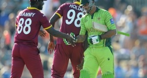 West Indies Thrashed Pakistan by 150 runs in 2015 world cup