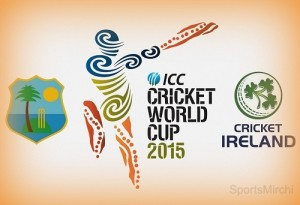 West Indies vs Ireland 2015 world cup preview, live streaming.