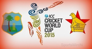 West Indies vs Zimbabwe world cup 2015 live Streaming, Score