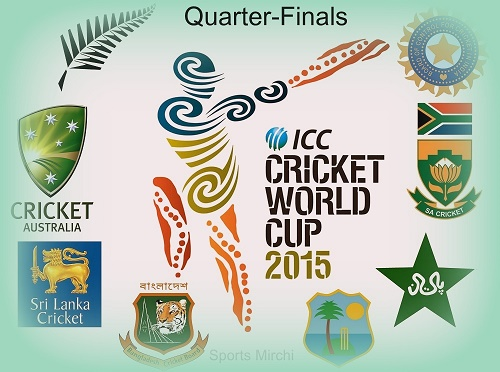 2015 Cricket World Cup Quarter-Finals Preview and Predictions.