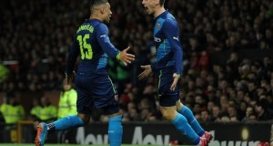 Arsenal qualify at FA Cup semifinal be beating Manchester United