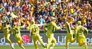 Australia beat New Zealand in 2015 world cup final to clinch title