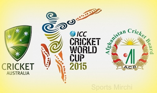 Australia vs Afghanistan world cup 2015 live streaming, score and preview.