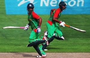 Bangladesh chased 318 easily to beat Scotland by 6 wickets,