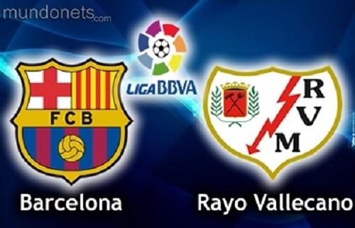 Barcelona vs Rayo Vallecano live stream, telecast, score and preview.