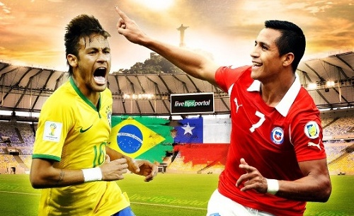 Brazil vs Chile Live Score, Streaming, Telecast Friendly Football.