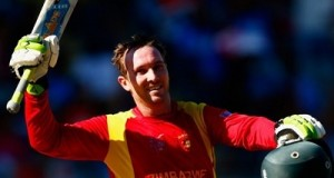Brendan Taylor smashed his 8th ODI hundred in farewell match