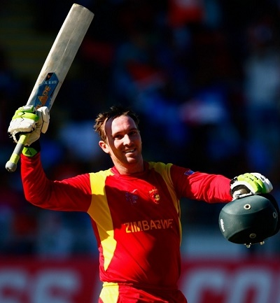 Brendan Taylor smashed his 8th ODI hundred in farewell match.