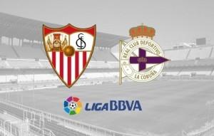 Deportivo La Coruna vs Sevilla Live Streaming, score and preview.