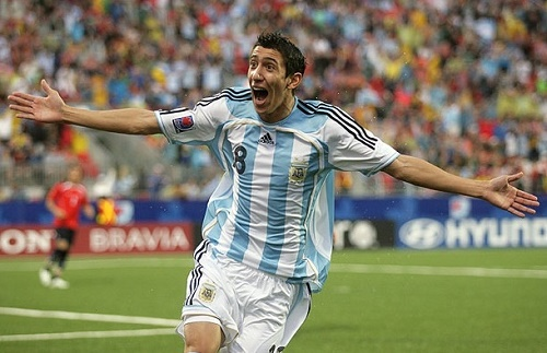 Di Maria named in Argentina squad for March 2015 Clashes.