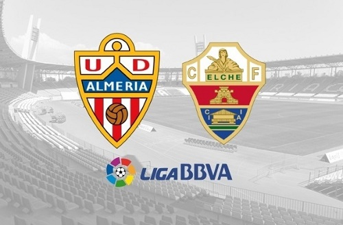 Elche vs Almeria live streaming, score, preview, telecast and tv info.