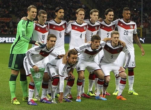 Germany named 23-men roster for Australia, Georgia clashes.