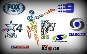 ICC World Cup knockouts 2015 live streaming, telecast, tv info.